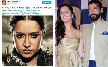 Farhan Akhtar Praises Shraddha Kapoor's Haseena Look. Good Going!