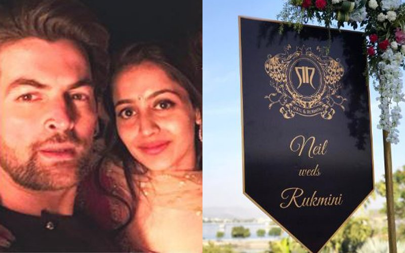 Neil's Wedding Rituals Begin: Here Are The Pics from Udaipur