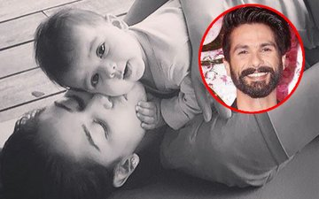 Shahid's Daughter Misha Says Her First Hello To The World
