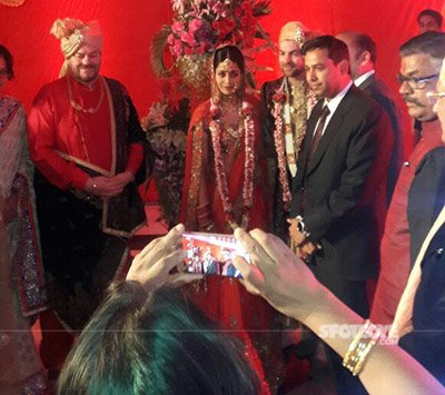 neil nitin mukesh and rukmini wedding