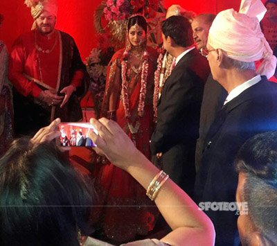 mr and mrs neil nitin mukesh wedding rukmini