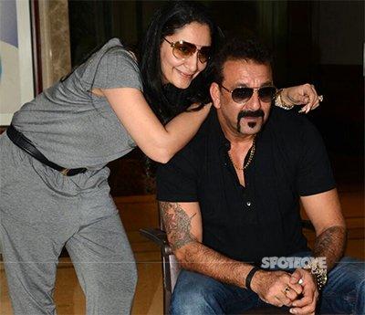 sanjay dutt and wife maanayata dutt