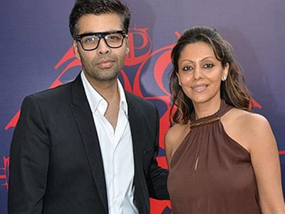 kjo with gauri khan