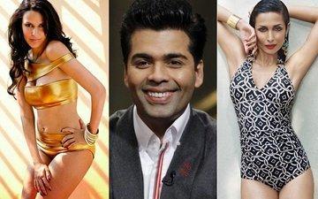 Neha Dhupia & Malaika Arora Are Karan Johar's New Special Guests