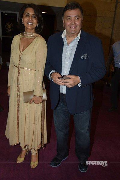 rishi kapoor and neetu singh spotted