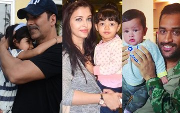 Akshay, Aishwarya & Dhoni's Daughters' Valentine's Day Celebration Is 'Aww'dorable!