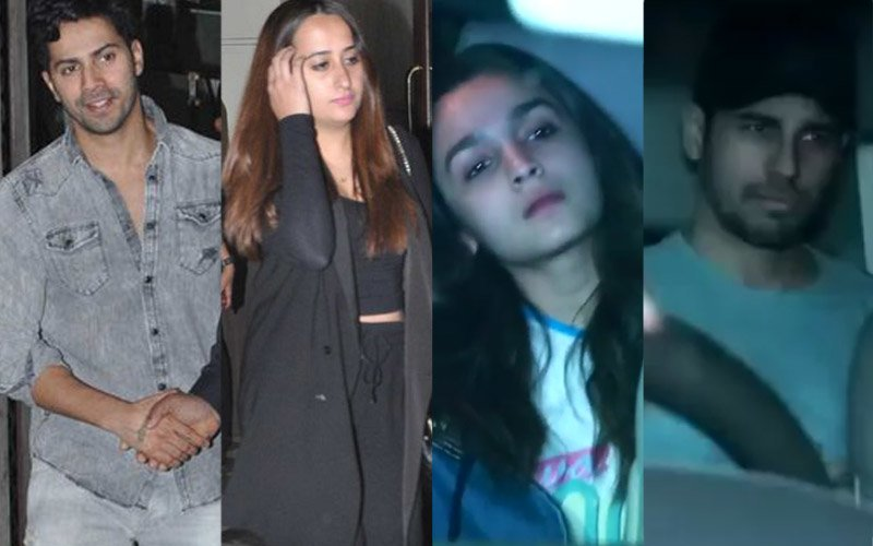 DATE NIGHT: Varun–Natasha, Alia-Sidharth Celebrate The Love Day Together!