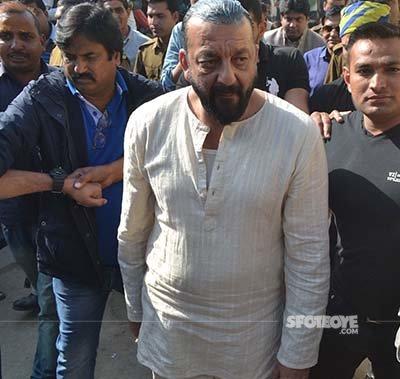 sanjay dutt in the crowd