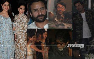 INSIDE PICS: Randhir Kapoor's Star-Studded 70TH Birthday Bash