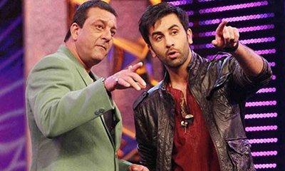 sanjay dutt with ranbir kapoor spotted
