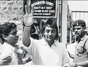 sanjay dutt in jail during earlier times