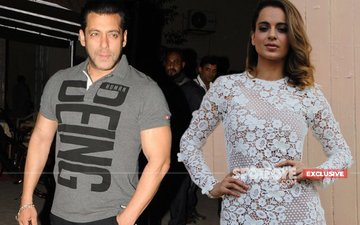 Salman Khan & Kangana Ranaut Kiss And Make Up