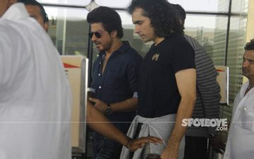 Now, Shah Rukh Shoots For Imtiaz Ali's Film At T2 Airport