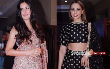Katrina Kaif & Iulia Vantur Face-Off Averted At Neil-Rukmini's Wedding Reception