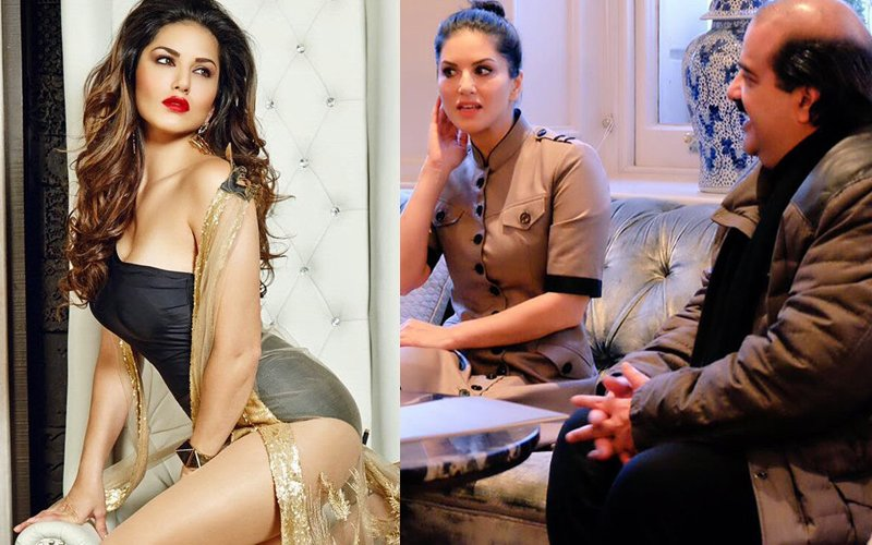 Hot & Sexy Sunny Leone Meets The Prince Of Bahrain