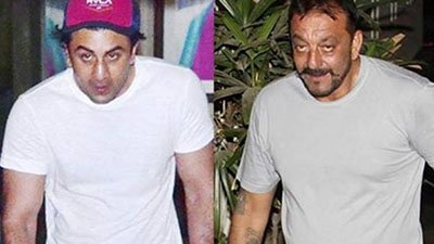ranbir kapoor beefed up to play his part in sanjay dutts biopic