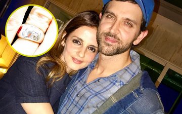 Sussanne Wears Ring On Her Ring Finger. Still Connected To Hrithik?