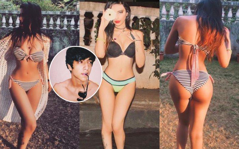 Ooh La La: Ahaan Pandey Drools Over Sakshi Chopra's Bikini Pics