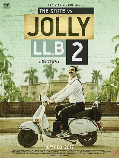 jolly llb 2 poster akshay kumar