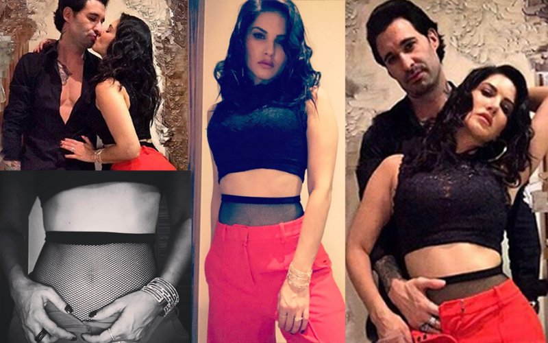 Sunny Leone Unbuttons For Hubby Daniel In Sexy Photo Shoot