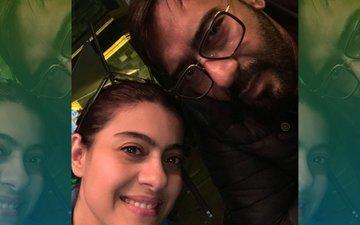 Kajol And Ajay Devgn Celebrate Wedding Anniversary With Rare Selfie