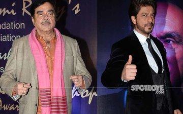 Shatrughan Sinha Grabs Eyeballs With Antics While Shah Rukh Khan Receives Award