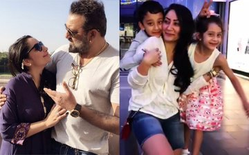 Sanjay Dutt Surprises Wife Maanayata With A Special Video