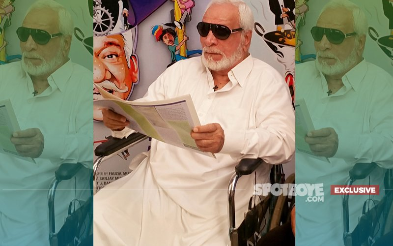 Kader Khan Can Barely Walk; Rushed To Canada For Treatment