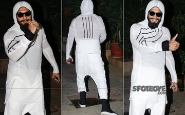 Baap Re! Ranveer Singh Is Being Compared To A Sperm!!