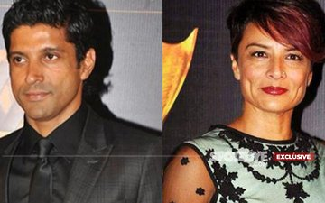 What Happened When Farhan Akhtar Sat Down To Divorce His Wife?