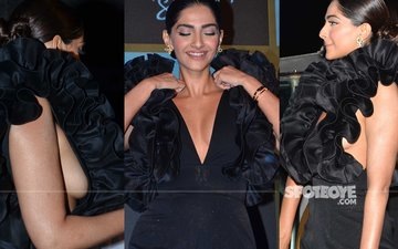 When Sonam's Jumpsuit Became AWKWARD For Her To Handle!