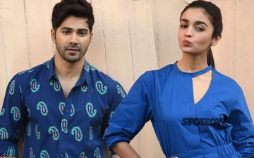 Varun Dhawan's Wrong Choice Of Words Embarrasses Alia Bhatt