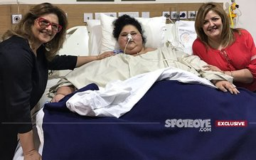 Hrithik Roshan's Mom Pinky Roshan Meets World's Heaviest Woman