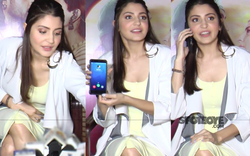 Anushka Sharma Speaks To Reporter's Mom During A Live Interview