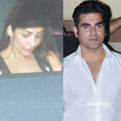 malaika arora and arbaaz khan spotted together