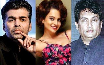 Karan Johar–Kangana Ranaut Controversy: Shekhar Suman Jumps Into It