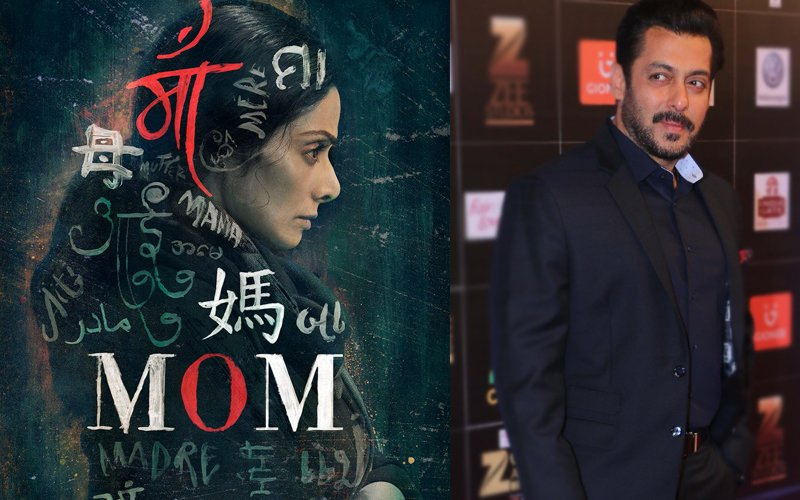 Sridevi Unveils The Poster Of Mom, Salman Khan Has Something To Say
