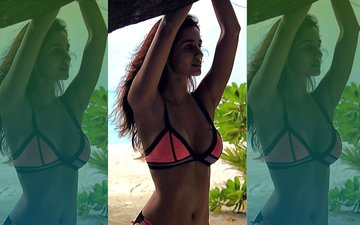 Bikini-Clad Disha Patani Yearns To Go To The Beach. Again!