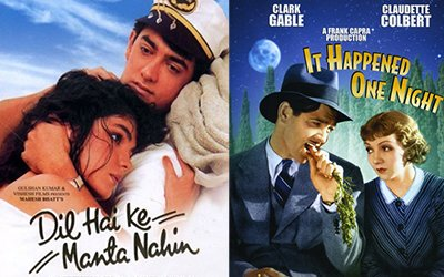 dil hai ki maanta nai and it happened one night poster