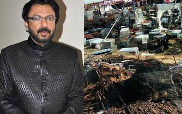 SLB's Padmavati Set Attacked AGAIN, This Time In Kolhapur...