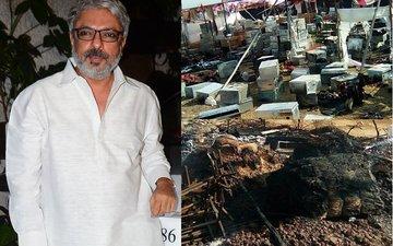 Sanjay Leela Bhansali Files Police Complaint After Padmavati Set Torched In Kolhapur