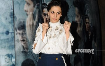 Taapsee Pannu Launches Sexual Harassment Helpline For Media Employees