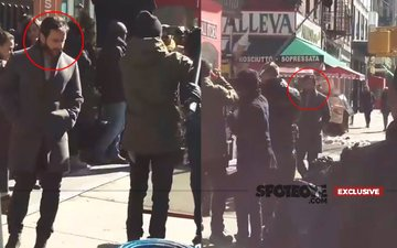 Exclusive Pictures From New York: Saif Ali Khan Shooting For Chef