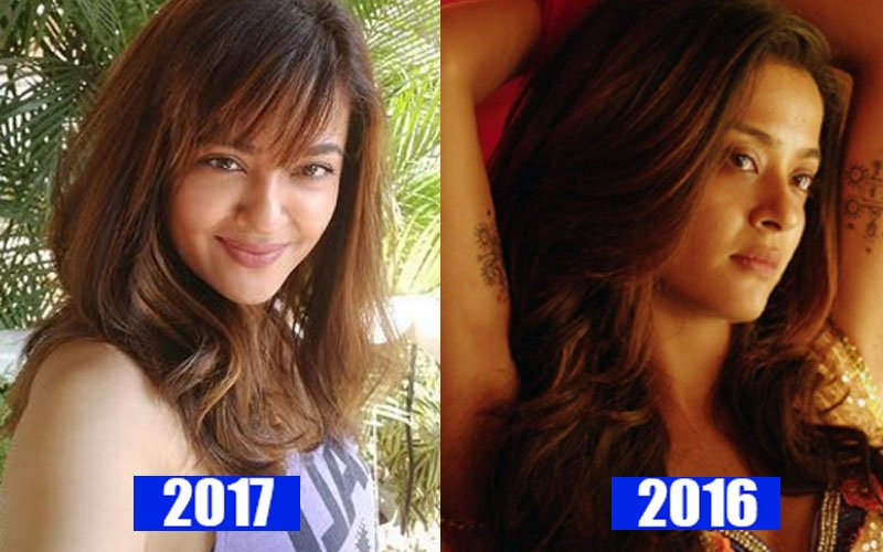 SPOT THE DIFFERENCE: Surveen Chawla's Features Are Distinct From Last Year