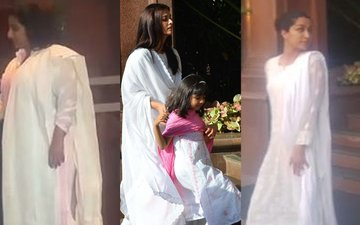 Vidya Balan, Kajol, Urmila Matondkar, Shraddha Kapoor Attend The Prayer Meet Of Aishwarya Rai Bachchan's Father