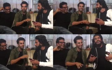 WATCH: Ranveer Singh's Awesome Rap With Rajkummar Rao For Trapped