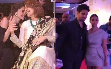 HT Most Stylish Awards 2017: Deepika-Neetu's Candid Moment, Alia-Sidharth Walk Out Hand-In-Hand
