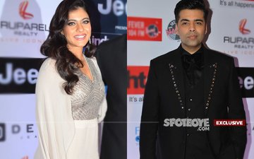HT Most Stylish Awards 2017: STRICT Instructions To Keep Kajol & Karan Johar APART
