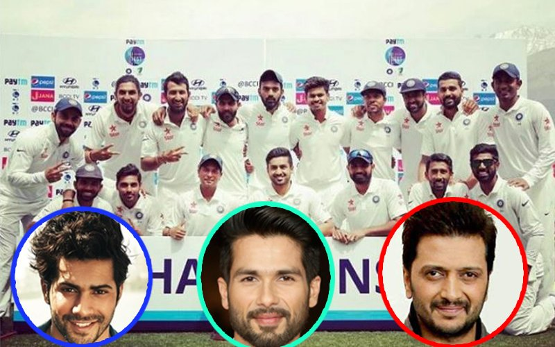 Varun Dhawan, Shahid Kapoor, Riteish Deshmukh Congratulate Team India For Winning The Border Gavaskar Trophy