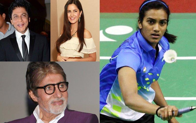 Katrina Kaif, Shah Rukh Khan, Amitabh Bachchan Congratulate PV Sindhu On Maiden India Open 2017 Title